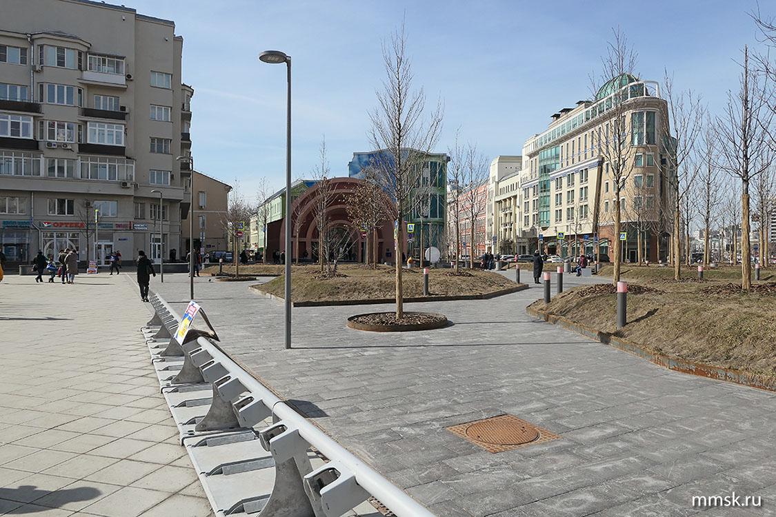 лермонтовская площадь фото в москве