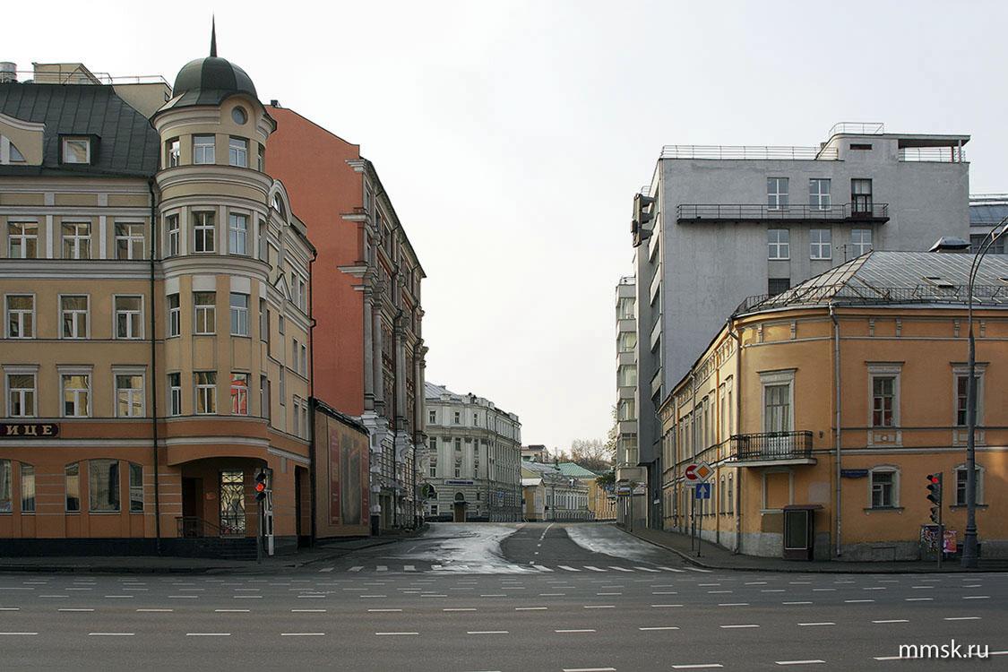 улица. Вид с Садовой-Спасской улицы ...: www.mmsk.ru/streets/unit/?id=4708