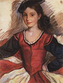 сочинение к картине з е серебрякова на кухне портрет кати 1923 год